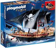 Discontinued Playmobil-pirate Raiders' Ship 6678 New But No Box