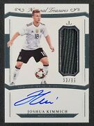 2018 National Treasures International Joshua Kimmich On Card Auto Patch /99