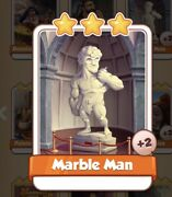 Marble Man Coin Master Card 2 For Sale Get Them While They Last 1=5