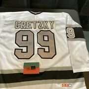 Wayne Gretzky Signed Authentic Los Angeles Kings Ccm Game Jersey Uda Upper Deck