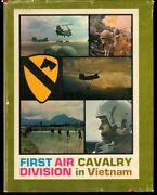 First Air Cavalry Division In Vietnam By Edward Hymoff 1st Edition Hc