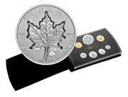 🇨🇦 Canada 20 Dollars Super Incuse Silver Maple Leaf Coin Gift Set 2021