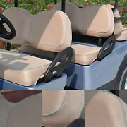 Golf Cart Front Backrest And Bottom Seat Cover Full Set Fits For Ezgo Txt 96-13