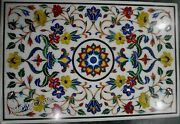 36 Inch Marble Dining Table Top Mosaic Art Coffee Table For Home Decor Furniture