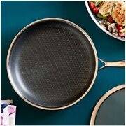 Pampered Chef 10 Stainless Steel Nonstick Skillet 2087 - Free Shipping