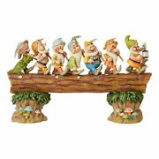 Disney Tradition By Jim Jore Masterpiece Seven Dwarves On The Music Trunk, Re...