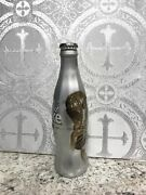 Coca Cola Diet Coke Fifa World Cup Germany 2006 Glass Bottle Silver Wrapped Full