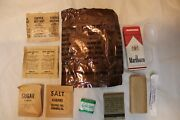 Us Military Issue Vintage Vietnam Era 1968 C-rations Accessory Pack Opened