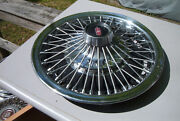 Vintage Oe 14 Inch Wire Wheelcover 67 Olds Cutlass442also Fullsize 4001