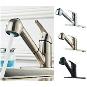 Bathroom Kitchen Sink Faucet Pull Out Basin Outlet Sprayer With Cover Base In Us