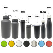 Pallet Stainless Steel Water Bottles 18-64 Oz Gallon Many Colors Over 600 Units