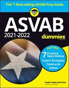 2021 / 2022 Asvab For Dummies Book + 7 Practice Tests Online + Flashcards