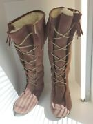 Emu Womens Water Resistant Suede Boots Size 8