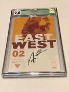 East Of West - Image Comic Book - Cgc 9.8 Issue 2 Signed