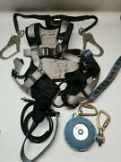 Falltech 7088l Full Body Safety Harness Size Large Set With Lifeline
