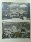 4 Vintage Real Photo Postcard Early Automobile Car Show Exposition 1910