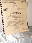Heuser's Quartly Price Quide Die Cast Collectable Banks 1996