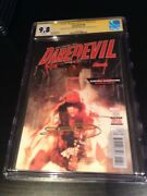 Daredevil 6 Cgc Ss 9.8 Signed By Stan Lee Frank Miller And B. Sienkiewicz