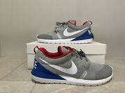 Nike Roshe Run Nm W Sp Great Britain Size 10 652804-016 Heather Grey/white/red