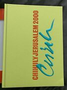 Chihuly Jerusalem 2000 Signed/autographed By Dale Chihuly Glass Artist Hardcover