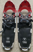 Tubbs Discovery 30 Metal Claw Red And Black 30 Snowshoes