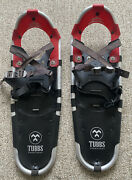 Tubbs Discovery 25 Metal Claw Red And Black 25 Snowshoes