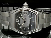 Large Roadster 2510 Automatic Blackandsilver Dial Stainless Steel W.box