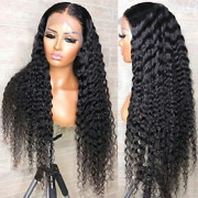 Brazilian Curly Full Lace Front Human Hair 180wig Pre Plucked With Baby Remy