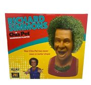 Chia Pet Richard Simmons Terra Cotta Easy To Do And Fun To Grow Novelty Gift