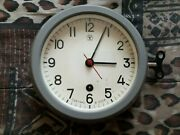 Almost New,submarine Clock Ship Ussr Navy Marine Russian Rare Wall Vintage Old