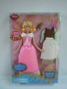 Cinderella Singing 11 Doll Gus Mouse Extra Dress Play Set 2013 Disney Store