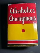 Alcoholics Anonymous 1st Edition 1951 14th Printin With Original Dust Jacket