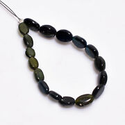 100 Natural Blue Tiger Eye Oval Shape Smooth Beads 4x3 5x4 Mm Strand 3 Dk-2089