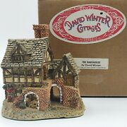 David Winter Cottages The Bakehouse Hand Made And Painted Great Britain 4x 3x 4