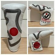 Scotty Cameron Headcover Circle J Japan Junkyard Dog Leather Putter Cover New