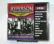 Jefferson Airplane/starship 36 All-time Hits 3 Cd Set - Hard To Find - Fat Box