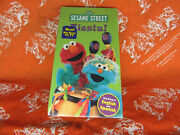 Sesame Street Fiesta Sing A Long English And Spanish Kids Educational Vhs Tape New