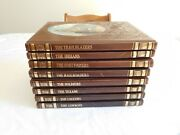 8 The Old West Series Time Life Faux Leather 1973 Thru 78 Loggers Cowboys Texans