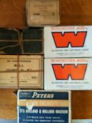 6 Boxes Of Ammo Cartridges Vintage Antique Peters, Winchester, Frankford Arsenal