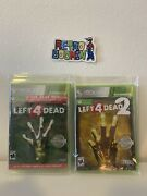 Left 4 Dead 1 And 2 Platinum Hits Goty Xbox 360 Brand New Factory Sealed Valve