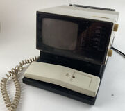 Vintage Quasar Ap1495yh Phone Tv Radio Alarm Clock 1985 For Parts Sold As Is