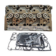 D1703 Cylinder Head Assy And Full Gasket Set For Kubota Tractor L3300 L3410 L3240