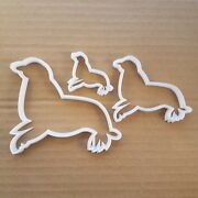 Seal Animal Sea Lion Shape Cookie Cutter Dough Biscuit Pastry Side Fondant Sharp
