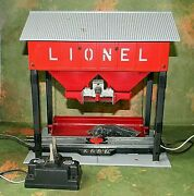 Lionel Accessory Operating Coaling Station  Instructions - Iob - Rare - O-27