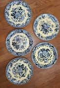 Spode Archive Blue Rose Collection Dinner Plates