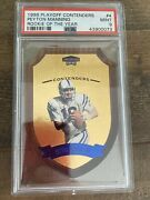 1998 Playoff Contenders Peyton Manning-rookie Of The Year-psa 9 Die Cut