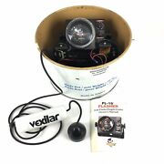 Vexilar Fl-18 Flasher Fish Depth Finder And Transducer Ice Fishing Works Great