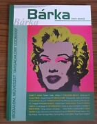 Marilyn Monroe On Front Cover Artistic Drawing Hungarian Magazine, 2019. Exrare