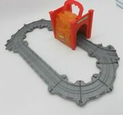 Thomas The Train Engine Tidmouth Tunnel Take-n-play Foldable Track Folding