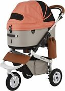 Airbuggy For Pet Stroller Dome 3 Brake Large Ad2605 Carrot L Size From Japan